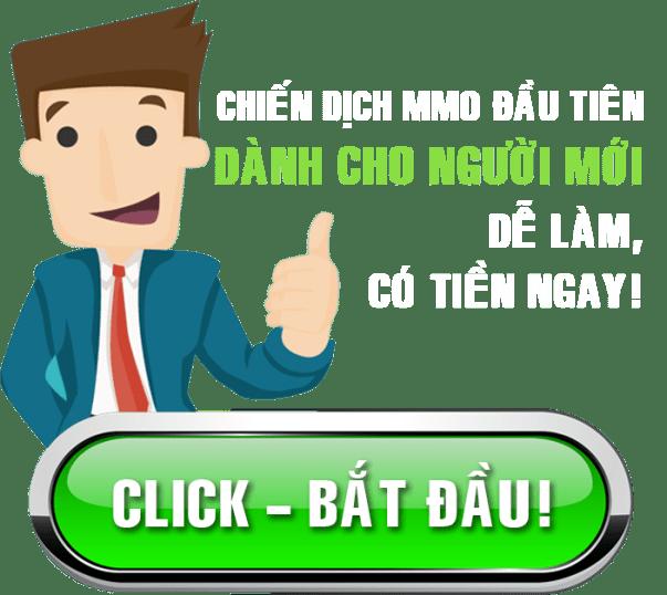 Chiến dịch kiếm tiền online đầu tiên