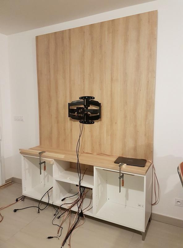 meuble tv ikea hack 30078249 sur