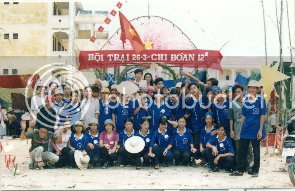 Hội trại 26/03 năm học 2001-2002