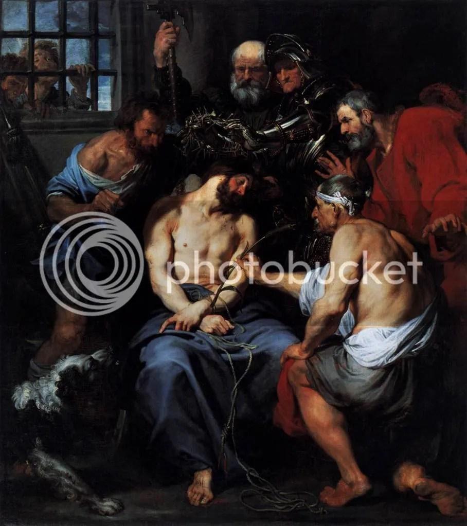 Η Στέψη με αγκάθια. Σερ Αντονυ βαν Νταϊκ. (1618-20)