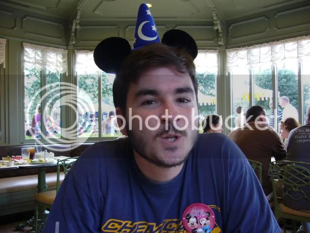 Chris in the Plaza Restaurant