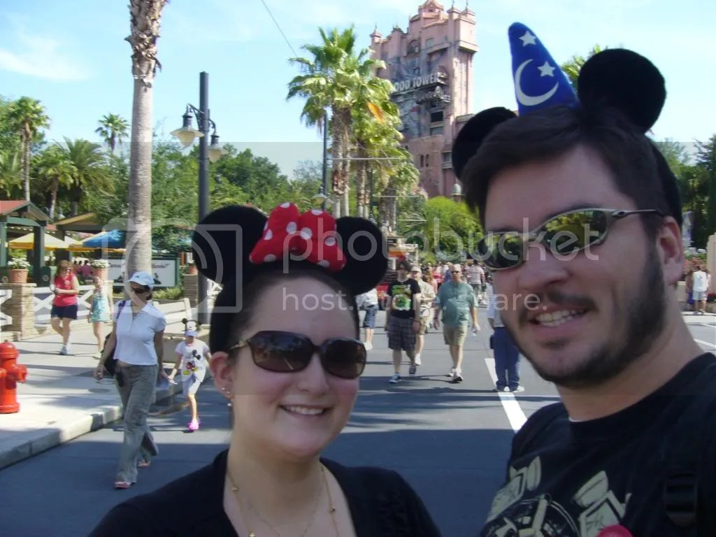 Us on the road to Tower of Terror