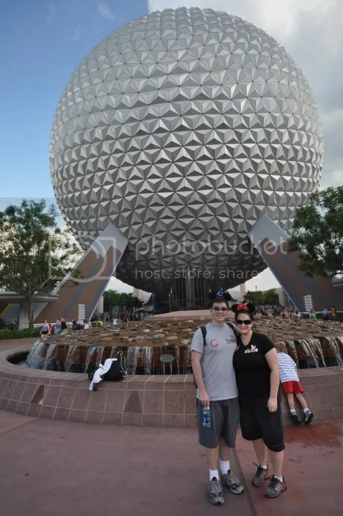 Us at Epcot