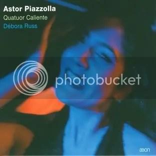 Quatuor Caliente - Débora Russ - Astor Piazzolla