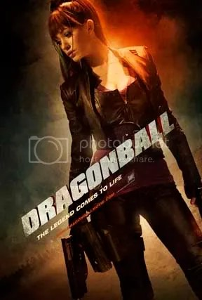 Bulma poster - Dragonball movie