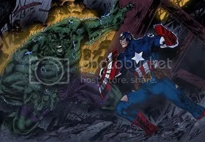 will it be Captain America vs Hulk in the next Avengers Movie?
