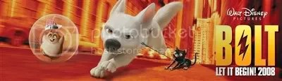 Disney Bolt Movie