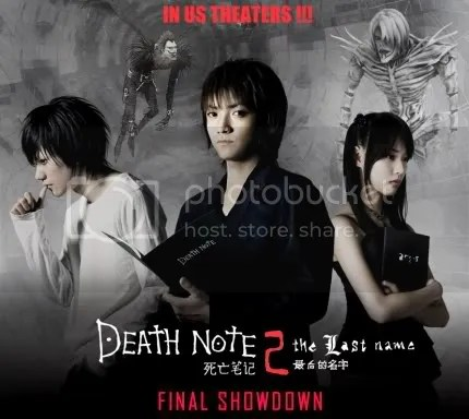 Death Note 2 The last Name in US Theaters