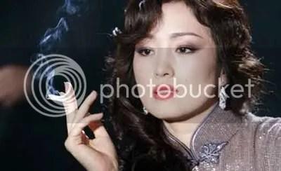 Gong Li in the movie Shanghai.
