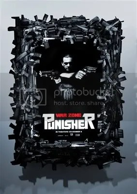 Punisher War Zone Ray Stevenson Lenticular Poster