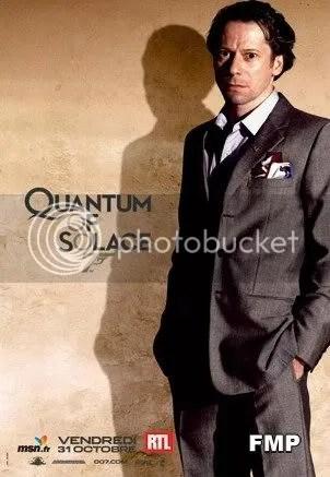 Mathieu Amalric - the vilain of the new james Bond movie - Quantum of Solace