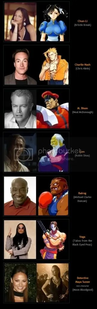Cast Of The New Street Fighter Movie Teaser Trailer