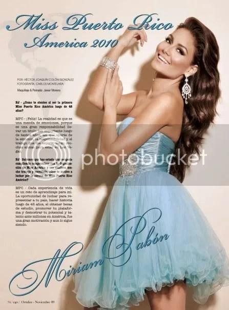Mimi Pabon Miss America Puerto Rico
