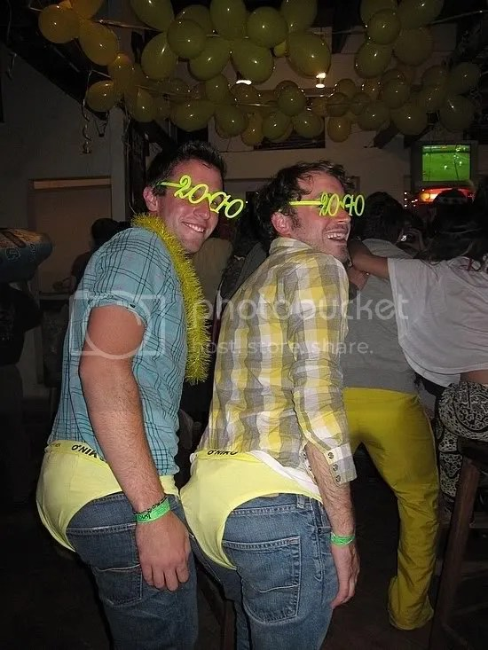Yellow Underwear New Years