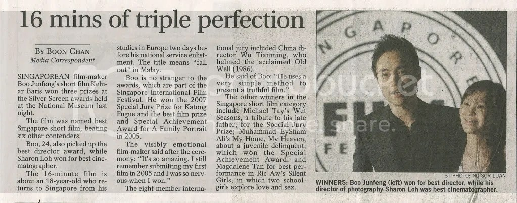 The Straits Times 14 Apr 2008