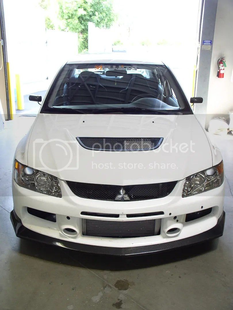 New Product From APR Carbon Front Lip For EVO 9