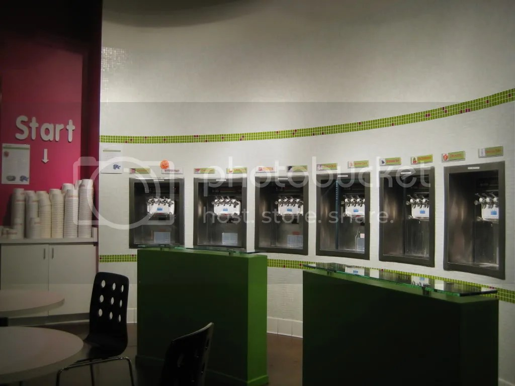 The yogurt bar.