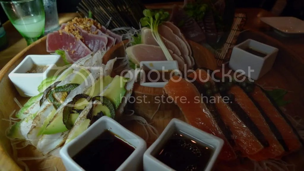 Skipjack Tuna, Albacore, Yellowfin Tuna, Arctic Char, and Kanpachi.