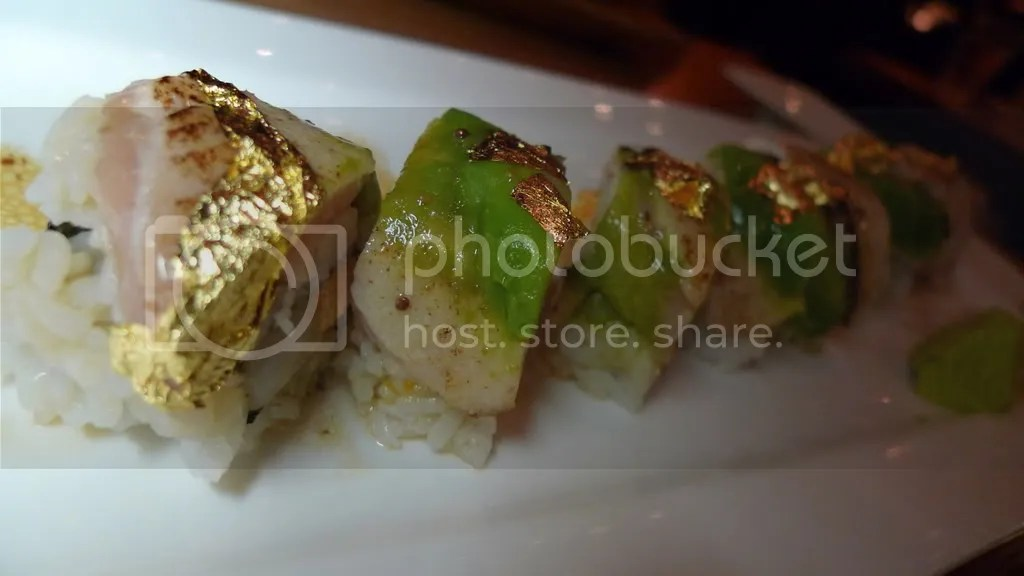 Golden State Roll ($15)
