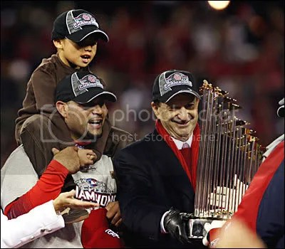 World Series Trophy - 2006 St. Louis Cardinals
