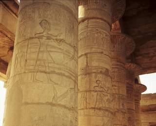 """tavanul """"suspendat"""",  trompe l'oeil vechi de 3200 de ani"""