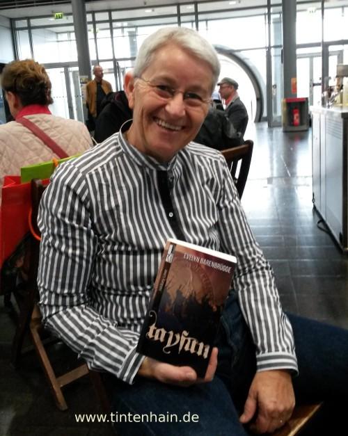 Buchmesse - Evelyn Barenbruegge