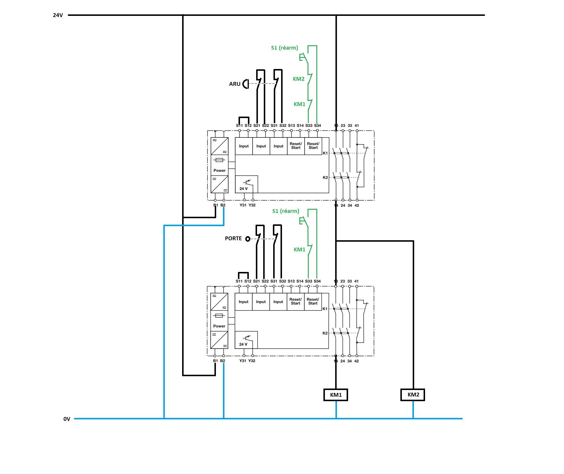 Pilz Relay Wiring