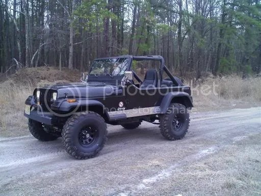 Diamond Plate Jeep Yj