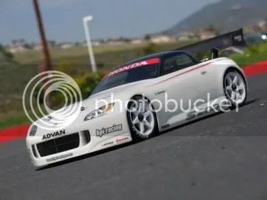 Honda S2000 Electric RC Car