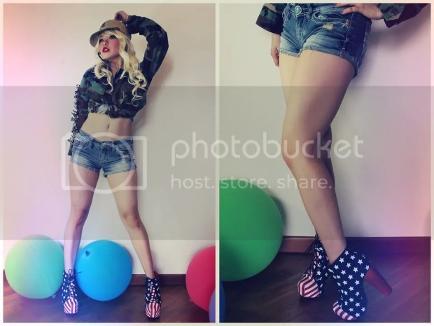 American Flag Fashion