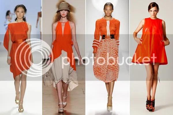 Tangerine Fashion Style Color 2012