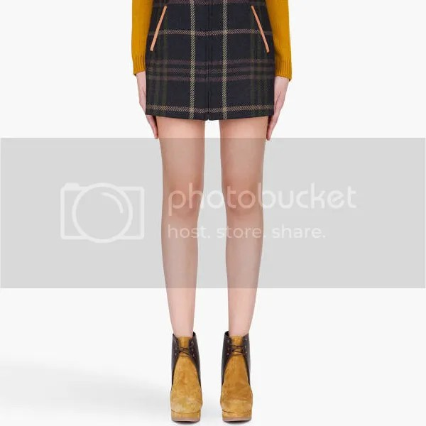 Plaid Trend Trendy Fashion Skirt