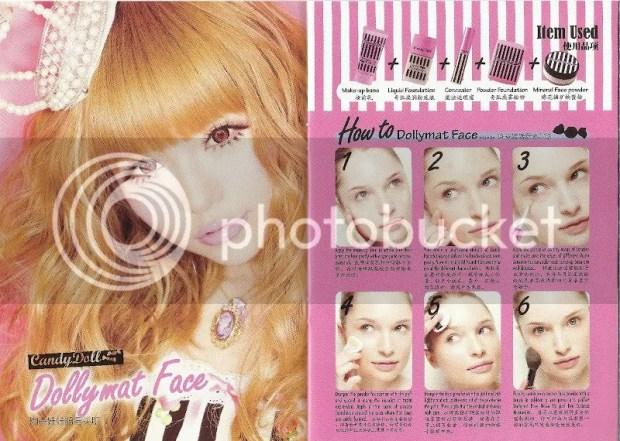 Candy Doll Makeup Book