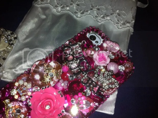 iPhone4 Bling Lux Addiction koreandoll