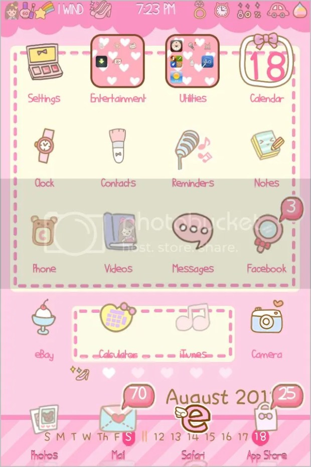 iPhone4s Theme