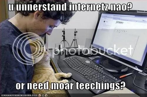 U Understyandz The Internetz Now