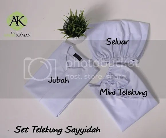 set mini telekung