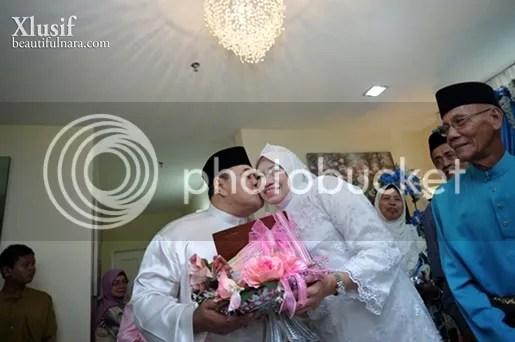 gambar pernikahan malik noor