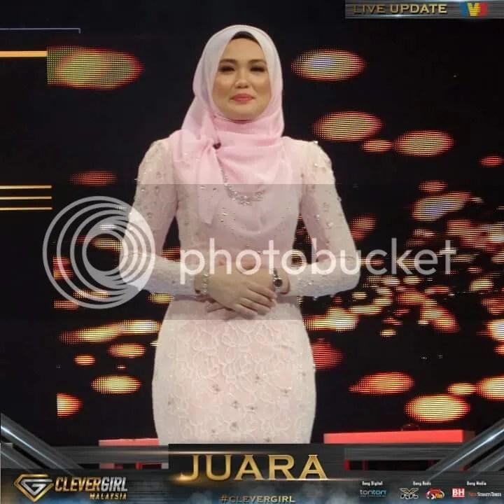 tahniah) fatin daripada kelantan juara clever girl malaysia, bawa