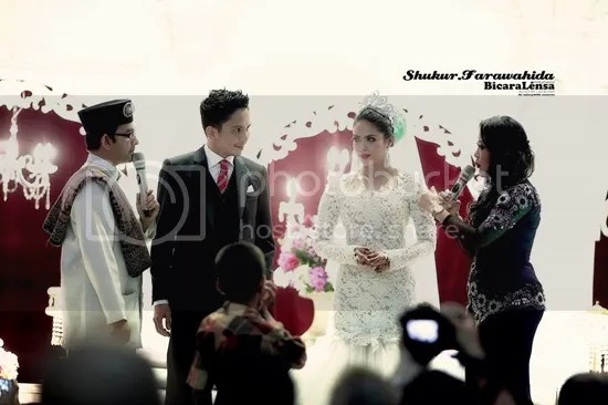 gambar farawahida kahwin