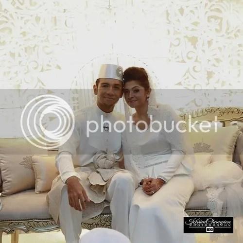 gambar kahwin taufik batisah dan sheena akbal