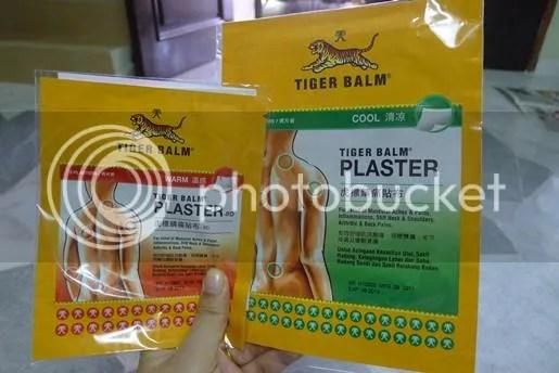 tigerbalmplaster