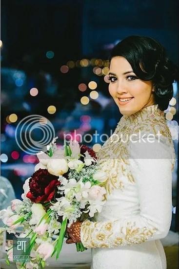 gambar kahwin syarif sleeq