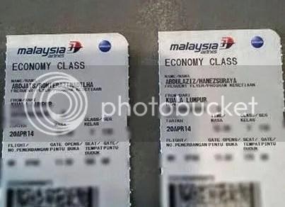 tiket MAS