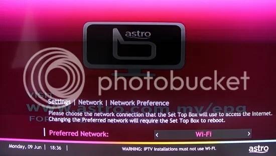 astro pvr dan wifi