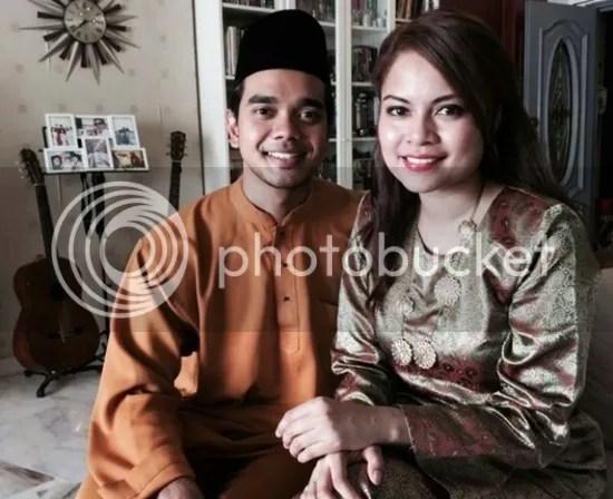 gambar kahwin alif satar