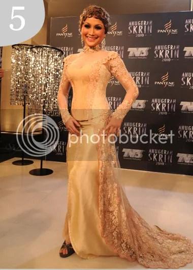 10 best dress anugerah skrin 2010