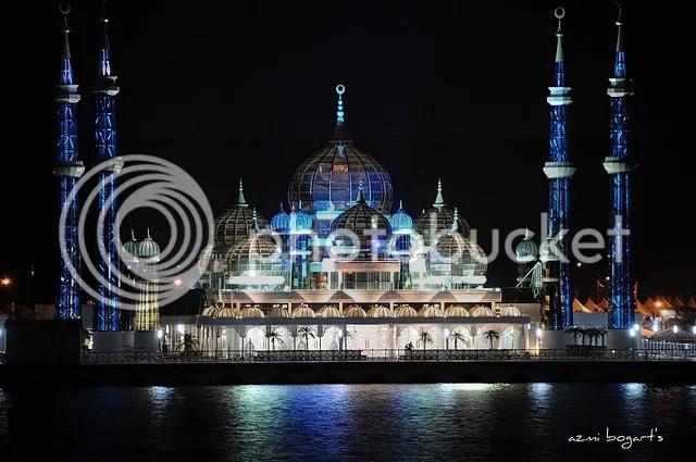 Cyristal Mosque, Kuala Terengganu, Malaysia