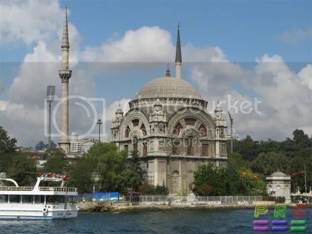 Dolmabahce Mosque in Istanbul - Turkey