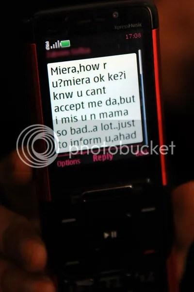 sms dari tom